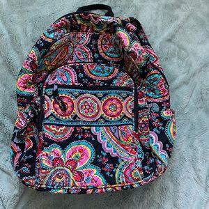 Vera Bradley Perisian Paisley campus backpack